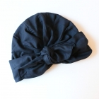 Turban Georgette Midnight Blue - PRE-COMMANDE