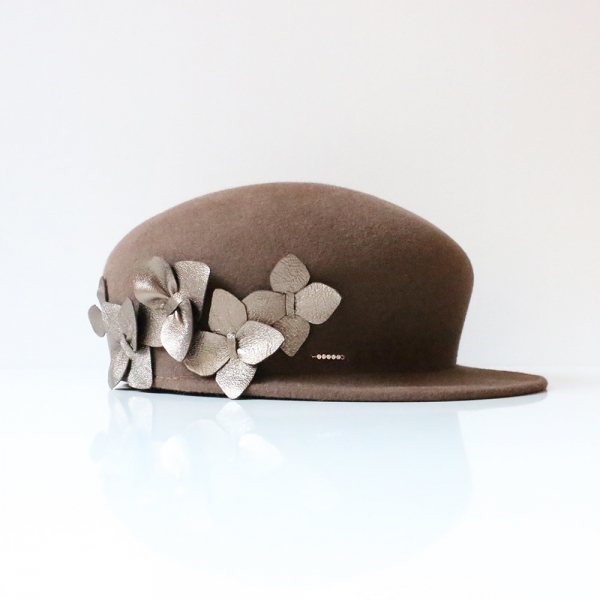 Casquette Marcelle Taupe